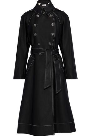 TEMPERLEY LONDON Maltide double-breasted wool-blend gabardine coat