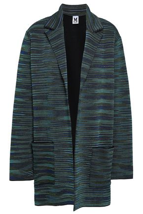 M MISSONI Oversized jacquard-knit wool-blend blazer