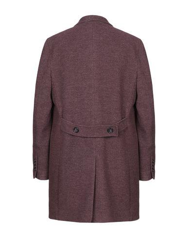 Фото 2 - Мужское пальто или плащ  красно-коричневого цвета