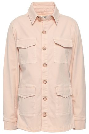 L'AGENCE Victoria stretch-cotton twill jacket