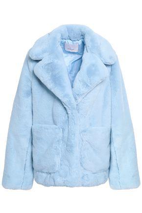 CINQ À SEPT Faux fur coat