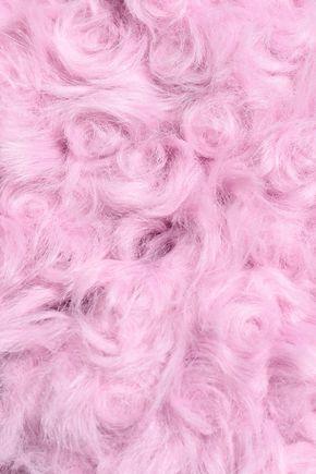 CINQ À SEPT Georgia faux shearling jacket