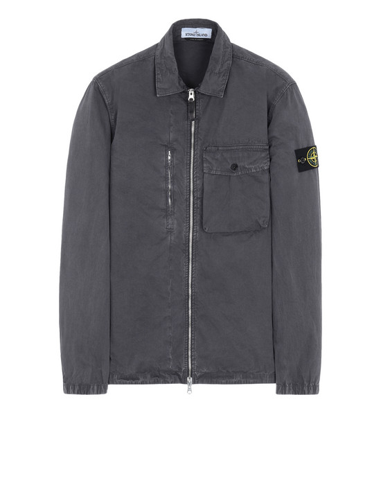 STONE ISLAND OVER SHIRT 121WN 'OLD' DYE TREATMENT
