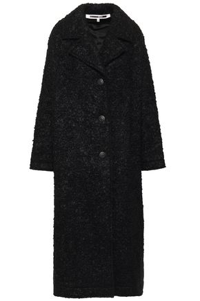Wool Blend Bouclé Coat by Mc Q Alexander Mc Queen