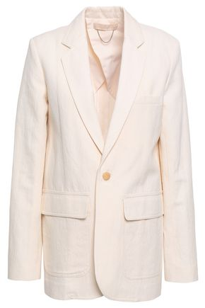 VANESSA BRUNO Idora cotton-blend crepe blazer