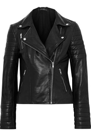 MUUBAA Cordata quilted leather biker jacket