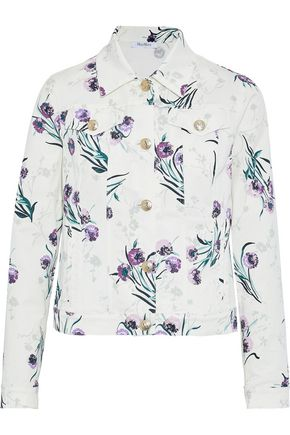 MAX MARA Rovo floral-print denim jacket