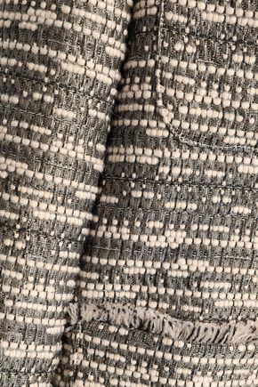 VANESSA BRUNO Frayed tweed jacket