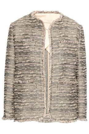 VANESSA BRUNO Frayed tweed jacket