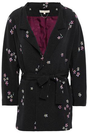 VANESSA BRUNO Floral-print crepe jacket