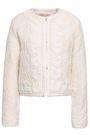 VANESSA BRUNO Embellished cotton-blend jacquard jacket
