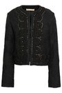 VANESSA BRUNO Embellished cotton-blend jacquard jacket