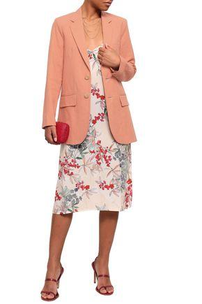 VANESSA BRUNO Garisa linen-blend piqué blazer