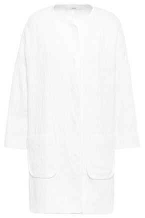 VANESSA BRUNO Cotton-blend cloqué jacket