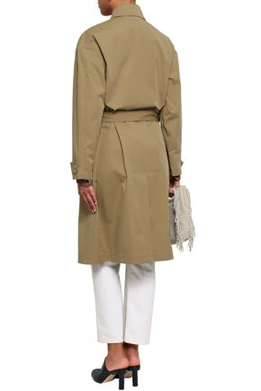 VANESSA BRUNO Isabella cotton-gabardine trench coat