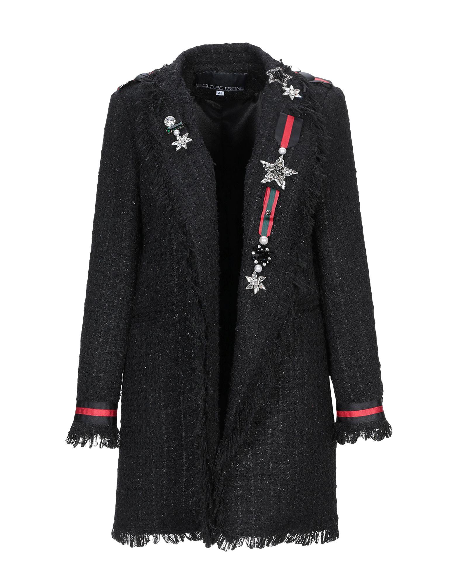 PAOLO PETRONE Легкое пальто недорого