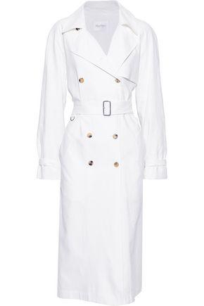 MAX MARA Azeglio linen trench coat