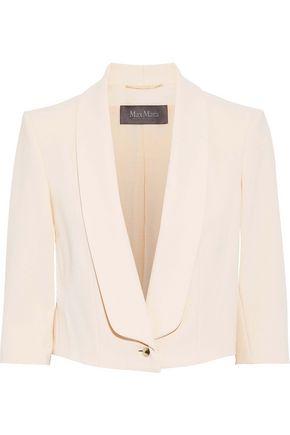 MAX MARA Ginger cropped crepe blazer