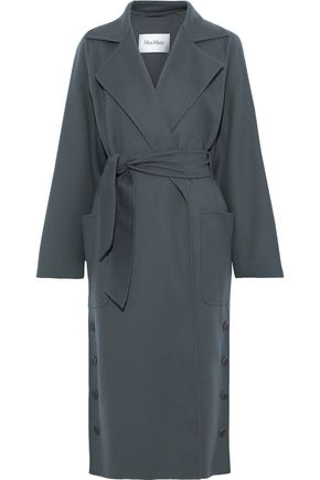 MAX MARA Alacre belted wool and cashmere-blend coat