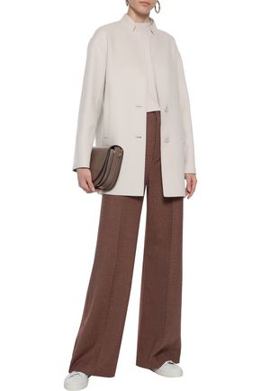 MAX MARA Alden wool and angora-blend coat