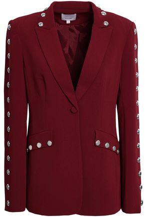 CINQ À SEPT Dive studded crepe blazer