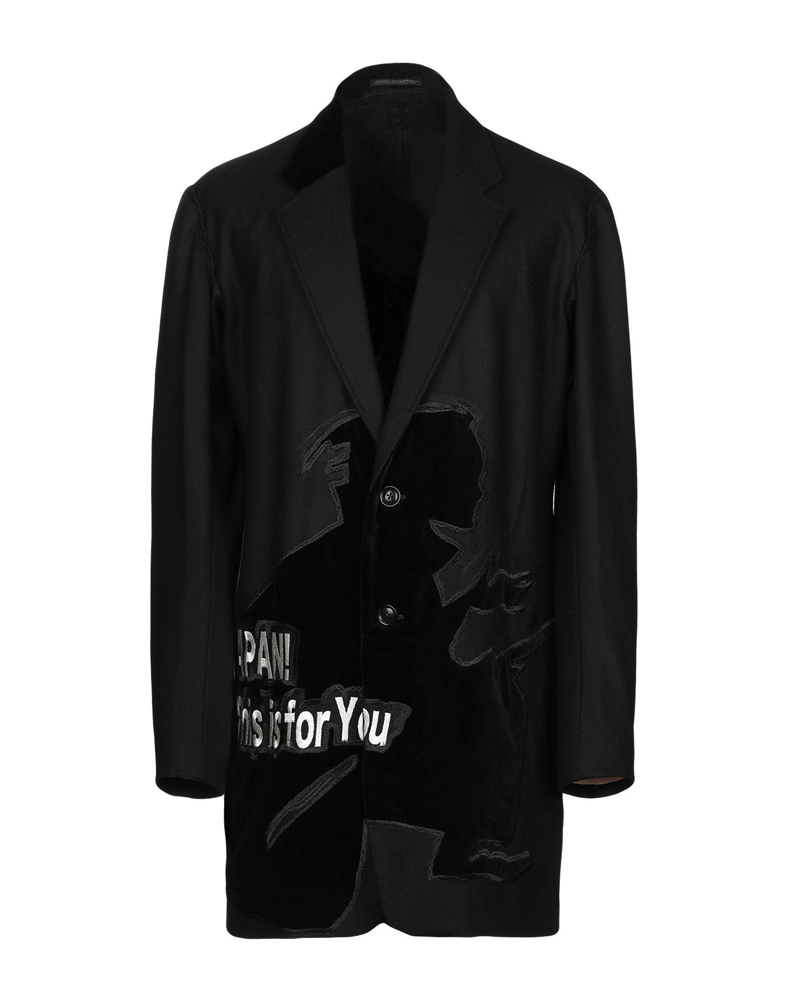 цена на YOHJI YAMAMOTO JEANS POUR HOMME Пальто