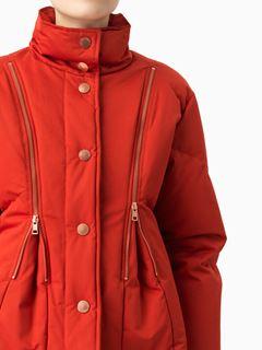 퀼트 다운 재킷