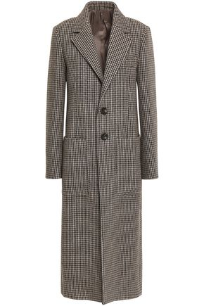 JOSEPH Houndstooth woven coat