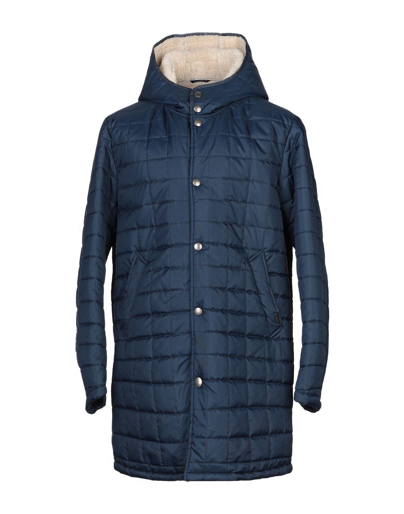 DANIELE ALESSANDRINI Пальто пальто с капюшоном 50