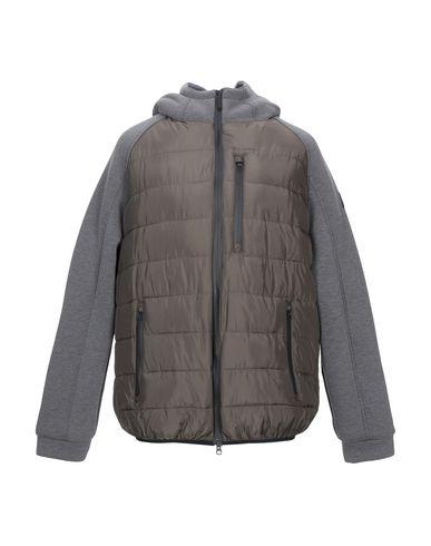 Купить Мужскую куртку  темно-зеленого цвета