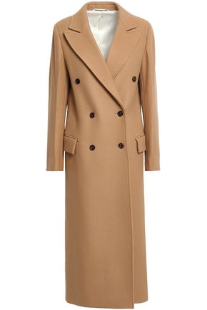 JOSEPH Double-breasted wool and cashmere-blend felt coat