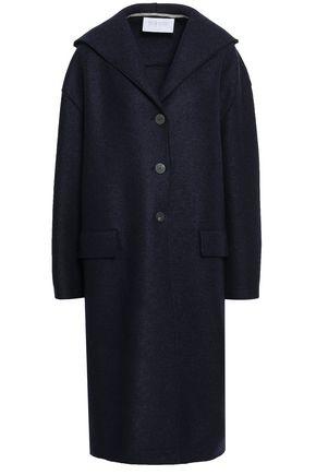 HARRIS WHARF LONDON Oversized wool-felt hooded coat