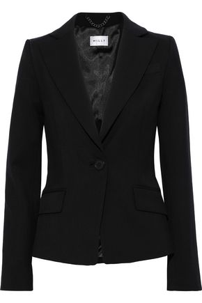 MILLY Wool-blend blazer