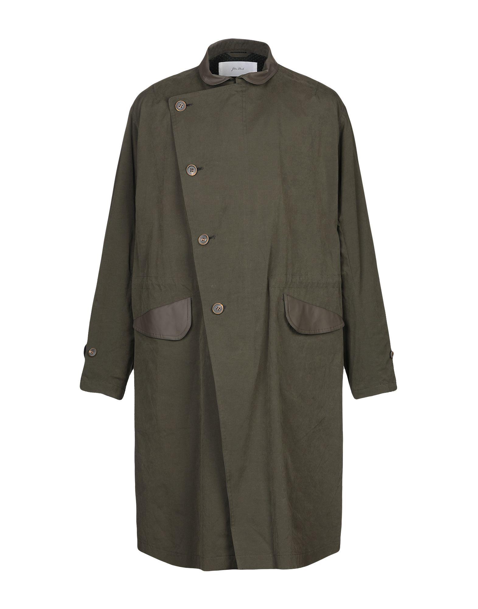 JULIEN DAVID Легкое пальто цены онлайн