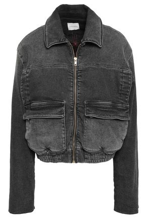 MAGDA BUTRYM Quebec denim bomber jacket