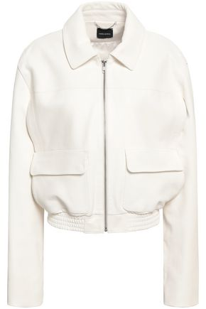 MAGDA BUTRYM Quebec textured-leather bomber jacket