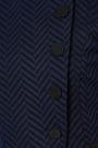 EMPORIO ARMANI Herringbone jacquard blazer