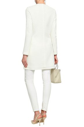 EMPORIO ARMANI Pointelle-knit jacket