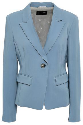 EMPORIO ARMANI Crepe blazer