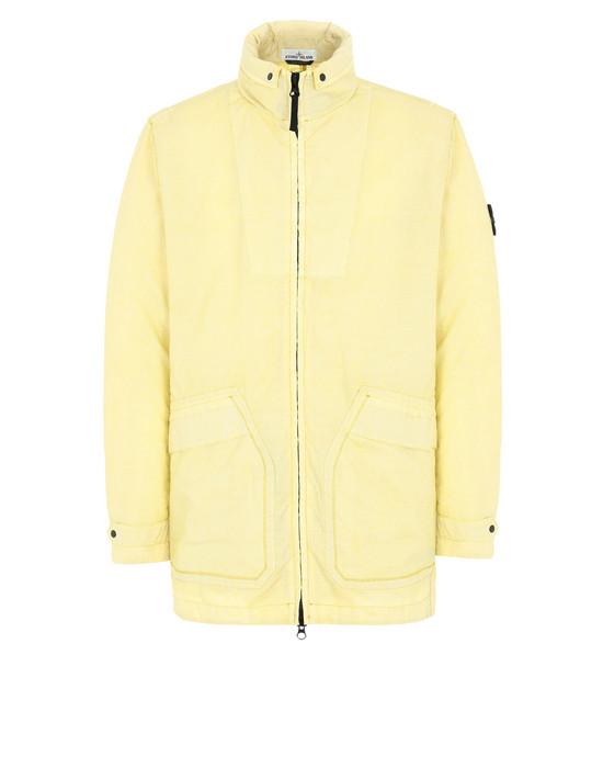 STONE ISLAND Куртка средней длины 44233 LINO RESINATO-TC