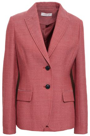 TORY BURCH Wool-jacquard blazer