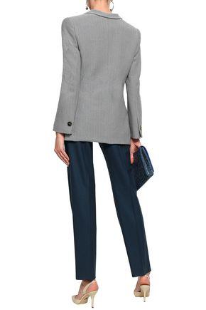 GIORGIO ARMANI Cotton-jacquard blazer