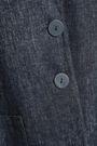 GIORGIO ARMANI Linen-blend chambray blazer