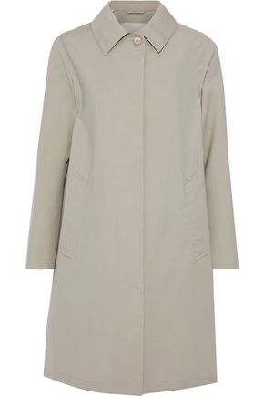 MACKINTOSH Wool-gabardine coat