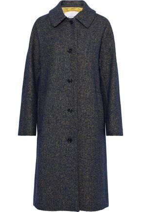 MACKINTOSH Marled wool-blend coat