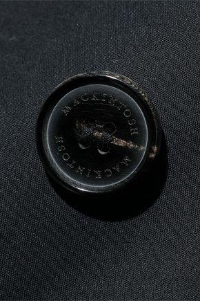 MACKINTOSH Coated cotton-gabardine trench coat