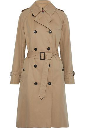MACKINTOSH Cotton-gabardine trench coat