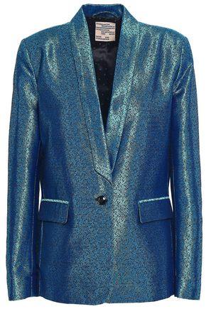 BAUM UND PFERDGARTEN Metallic jacquard blazer