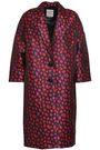 BAUM UND PFERDGARTEN Floral-jacquard jacket