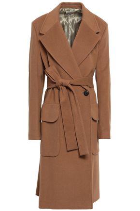 BAUM UND PFERDGARTEN Belted wool-blend felt coat